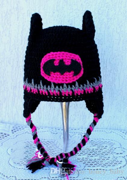 8558a490edf 2019 Captain America Superman Spiderman Batman Iron Man Super Hero Kids  Newborn Infant Animal Hat Crochet Beanie Winter Children Christmas Gift  From ...