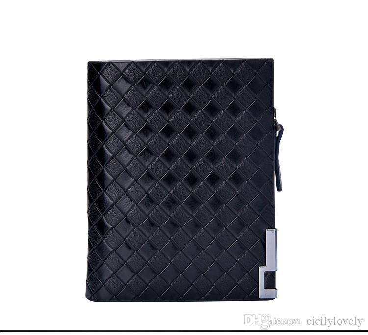 2018 erkek Cüzdan Sikke çanta Erkek Debriyaj Fermuar Cep iş buzlu erkek uzun cüzdan otoriter high-end erkekler cüzdan 2018051420