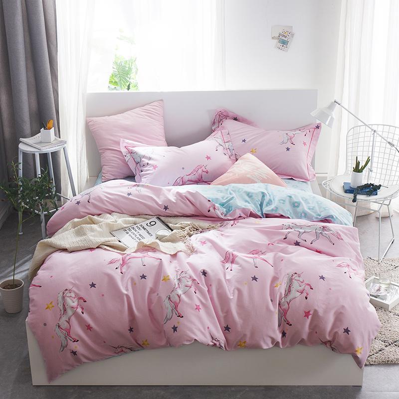 100 Coon Twin Double Queen King Size Bedding Set Flamingo Unicorn