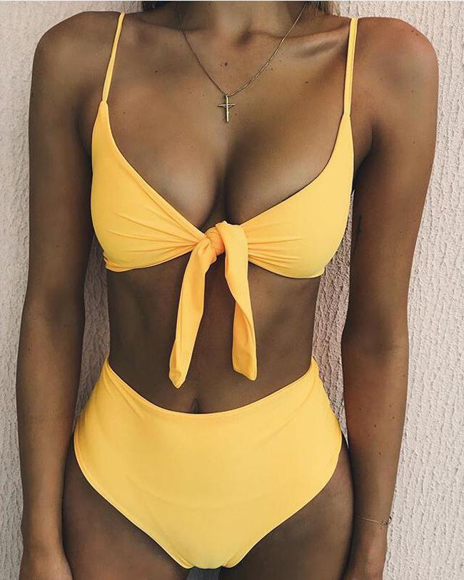 9d0de76371 2019 2018 Sexy Bikini New Bikini Three Point Swimsuit Small Chest Gathered  Women Swimwear Beauty Swimsuit From Yzy1102, $11.56 | DHgate.Com