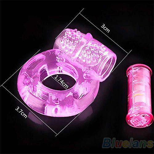Sex Toys Adulte Hommes Vibration Colliers Retarder L'éjaculation Prématurée Serrure Fine Papillon Cock Penis Anneau