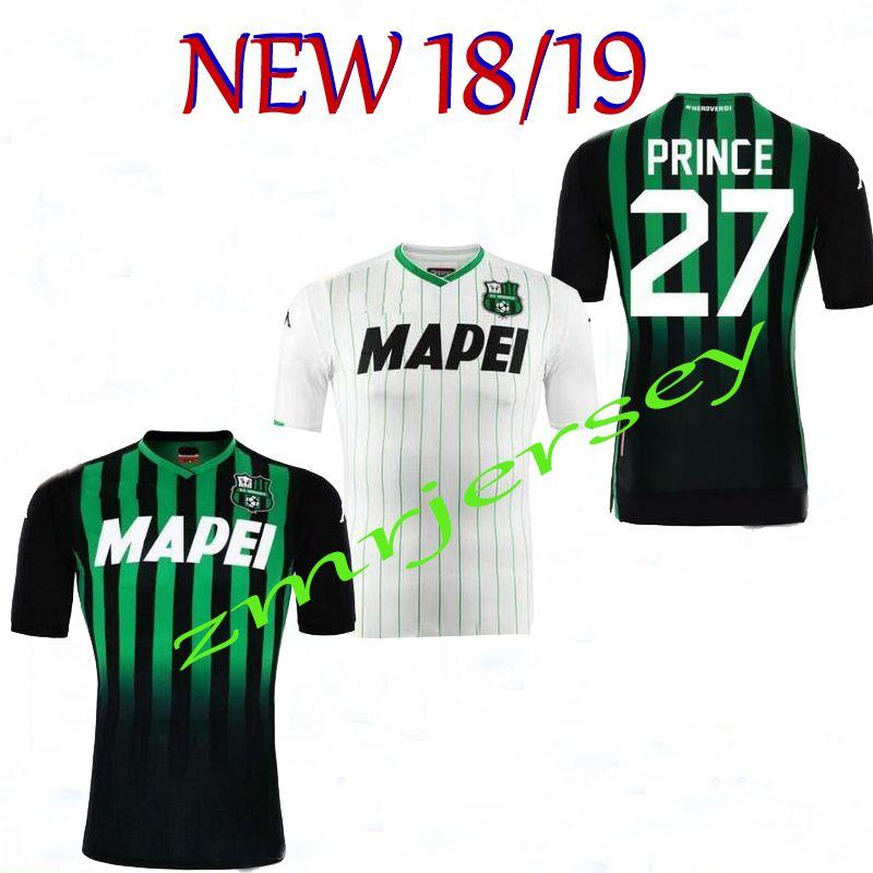 18 19 Nuevo Camiseta De Fútbol Sassuolo Calcio Khouma Babacar Marlon 2018  2019 Sassuolo Rogério Oliveira Alessandro Matri Camiseta De Fútbol. fb1025b1dcf70