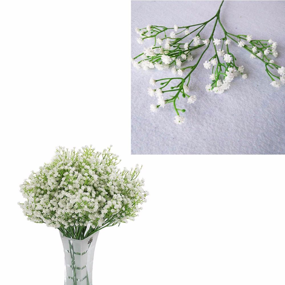 2018 Gypsophila Flowers Glitter Wedding Simulation Flower