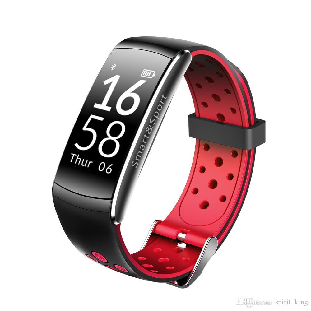 Q8 Smart Wristband impermeabile a prova di cuore battito cardiaco intelligente BT Sport chiamate monitoraggio delle attività di monitoraggio del sonno iPhone iOS Android
