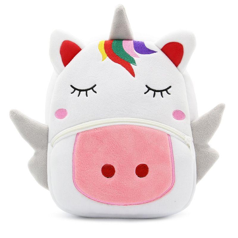 Unicorn Shoulder bag Fashion cartoon children unicorn Backpacks Multifunction Outdoor Travel Bags C4183