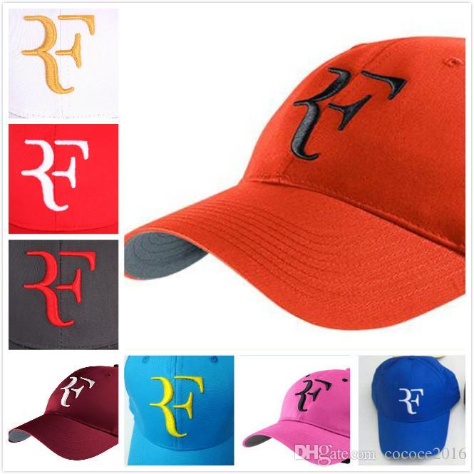 060a61d5cf7 2019 NEW Hot Baseball Caps Men Women Roger Federer RF Hybrid Hat Tennis  Racket Hat Cap Racquet Adjustable Superman Cap Hat Embroidery From  Cococe2016