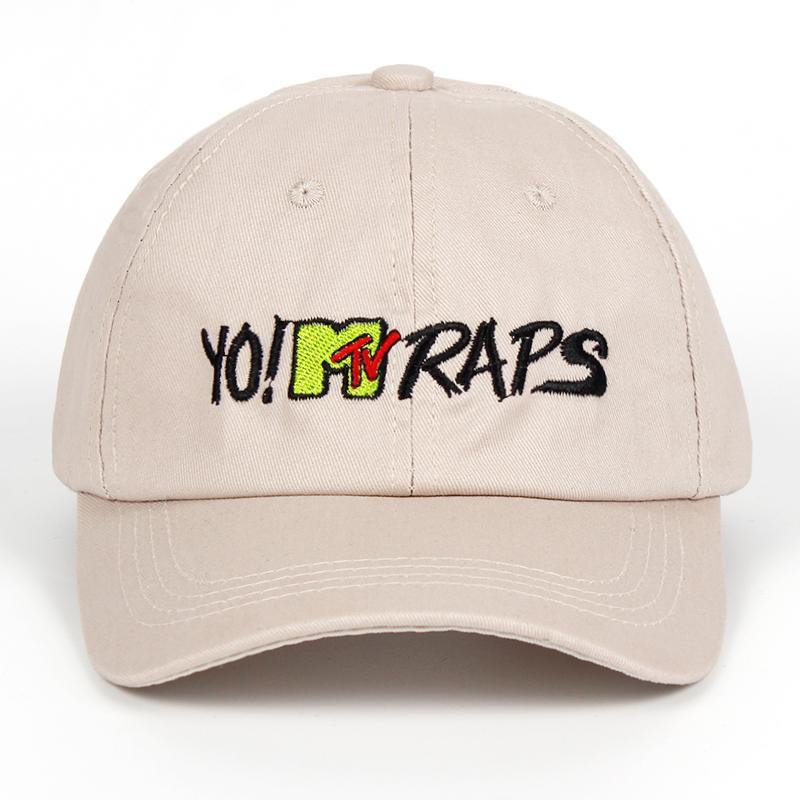 MTV RAPS Gorra De Béisbol Casquette De Marques Gorras Planas Sombrero De  Papá Hip Hop Snapback Gorras Sombreros Para Mujeres Hombres Sombrero  Sombreros ... 4de4b0dd810