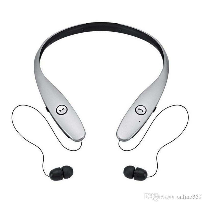 HBS 900 HBS-900 Kablosuz Spor Gerdanlık Kulaklık Kulaklık Bluetooth Stereo Kulaklık kulaklık Perakende Paketi Ile iPhone X 8 Için Samsung S8