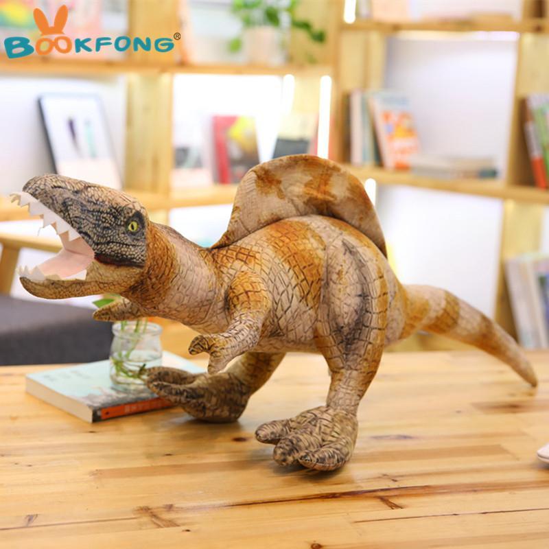 2019 Simulation Dinosaur Plush Toy Lifelike Earthquake ...