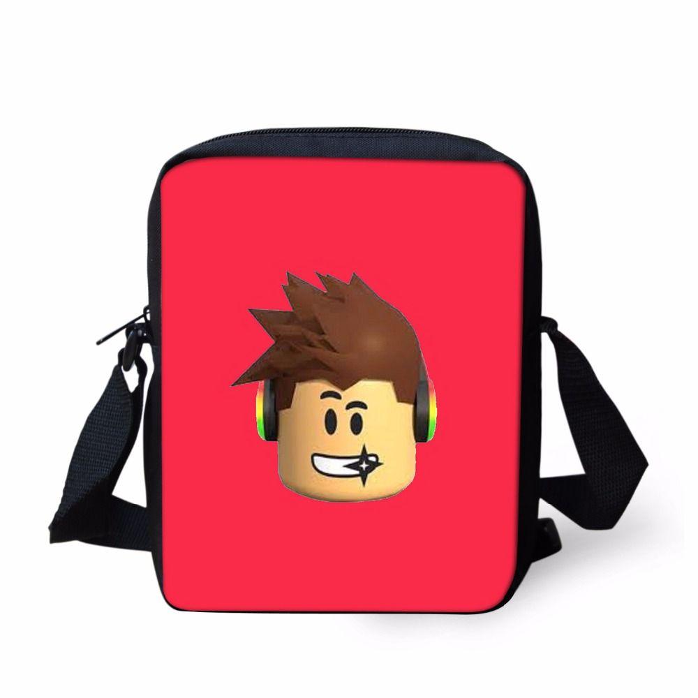 ce51cb0f7b03 Messenger Bags Game Roblox Toys Schoolbag Satchel For Women Casual Shoulder  Bags Small Cross Body Bag Children Girls Boys Hobo Handbags Luxury Handbags  From ...