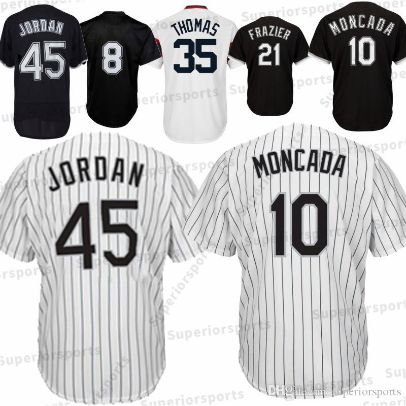 42d0813dcffe Chicago White Sox 45 Michael Jersey 8 Bo Jackson 72 21 Todd Frazier ...