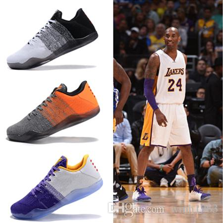 online store 88ddd 37115 With Box 2018 High Quality Kobe 11 Basketball Shoes Mens Kobe 11 Gold Championship  MVP Finals Sports Training Sneakers Run Shoes Size 7 12 Cheap Sneakers ...