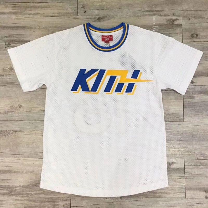 ffada7e0b 18SS KITH X MITCHELL NESS Basketball Jersey Embroidery Mesh Ball Tee Short  Sleeve Men Women Tee Fashion HFLSTX317 Funny Rude T Shirts Trendy Mens T  Shirts ...
