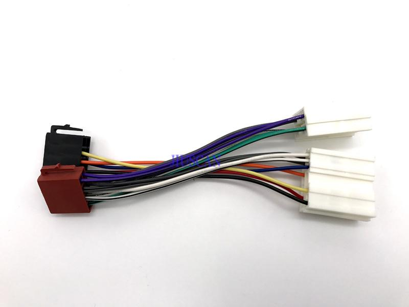 2018 jiuscan iso standard wire harness radio adapter cable for 1993 rh dhgate com Speaker Wire Harness Construction Wire Harness