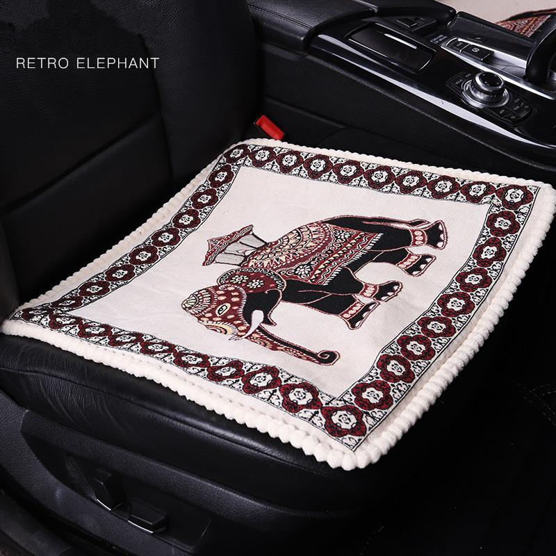 New Electric Heated Car Seat Cushion Winter Pad Covers Universal Conjoined Supplies Auto Cover Sets From