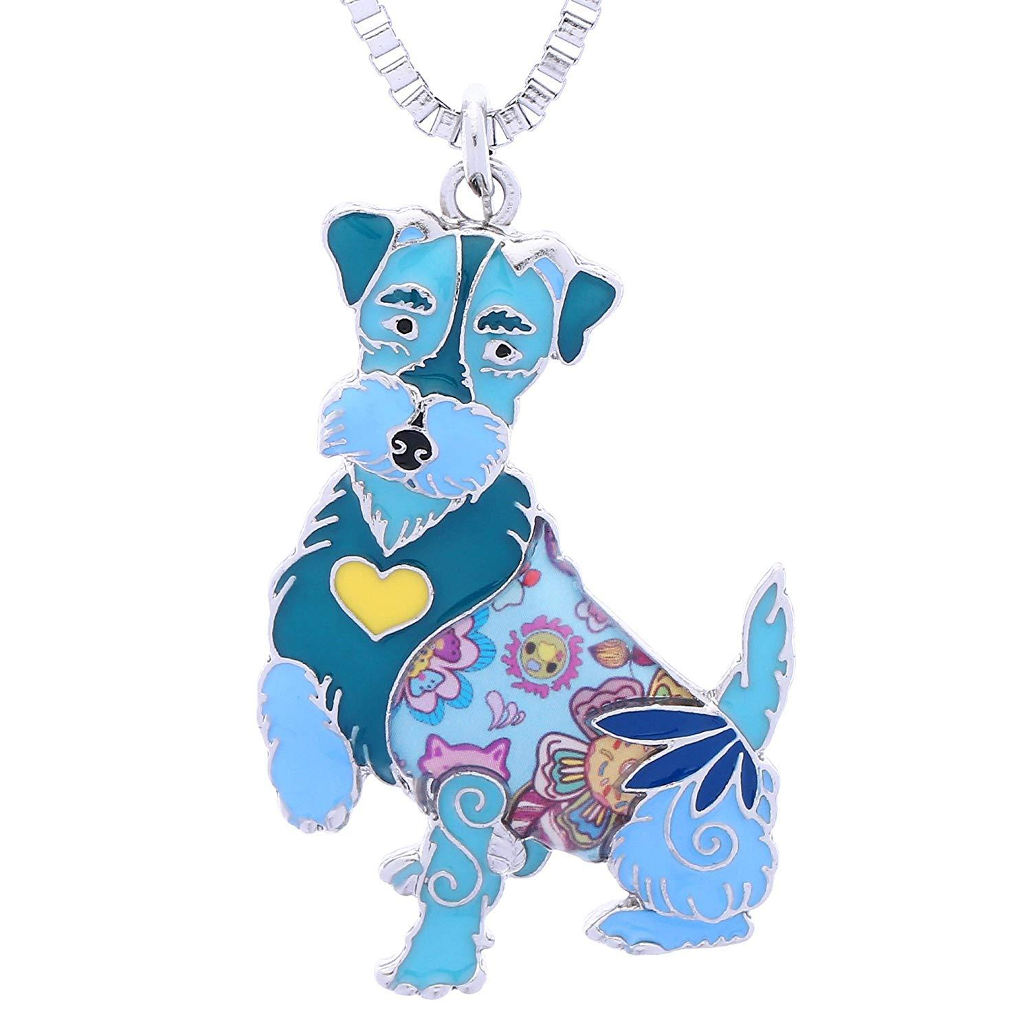Novelty Airedale Terrier Gifts Jewelry For Women Cute Pets Dog