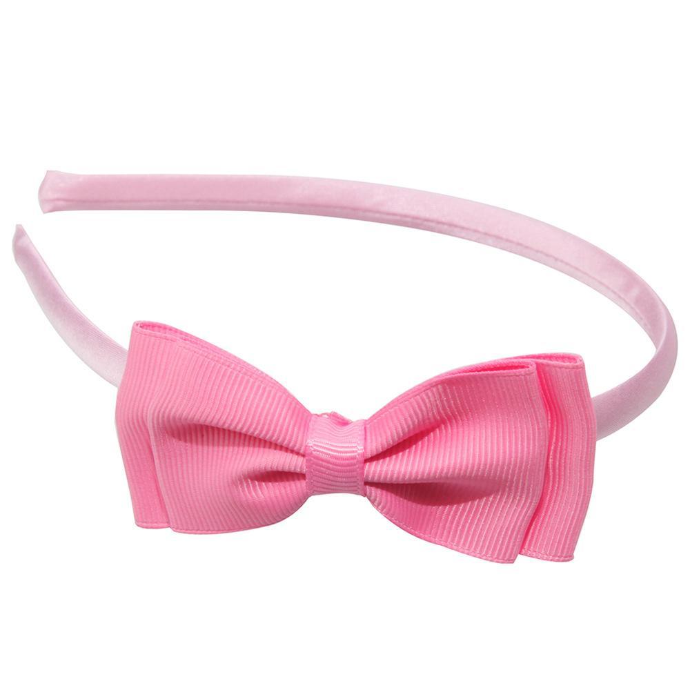 1 unids 2017 Nueva venta caliente colores sólidos doble lindo Arcos Diadema niños aro accesorios para el cabello headwear