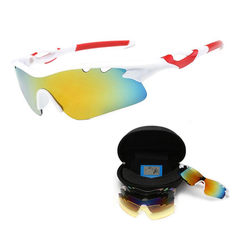 0ca2abf5e9 Cycling Glasses Bicycle Glasses Polarized Men Outdoor Sport Sunglasses MTB Goggles  Bike Eyewear Women 5lens Cycling Eyewear Cheap Cycling Eyewear Cycling ...
