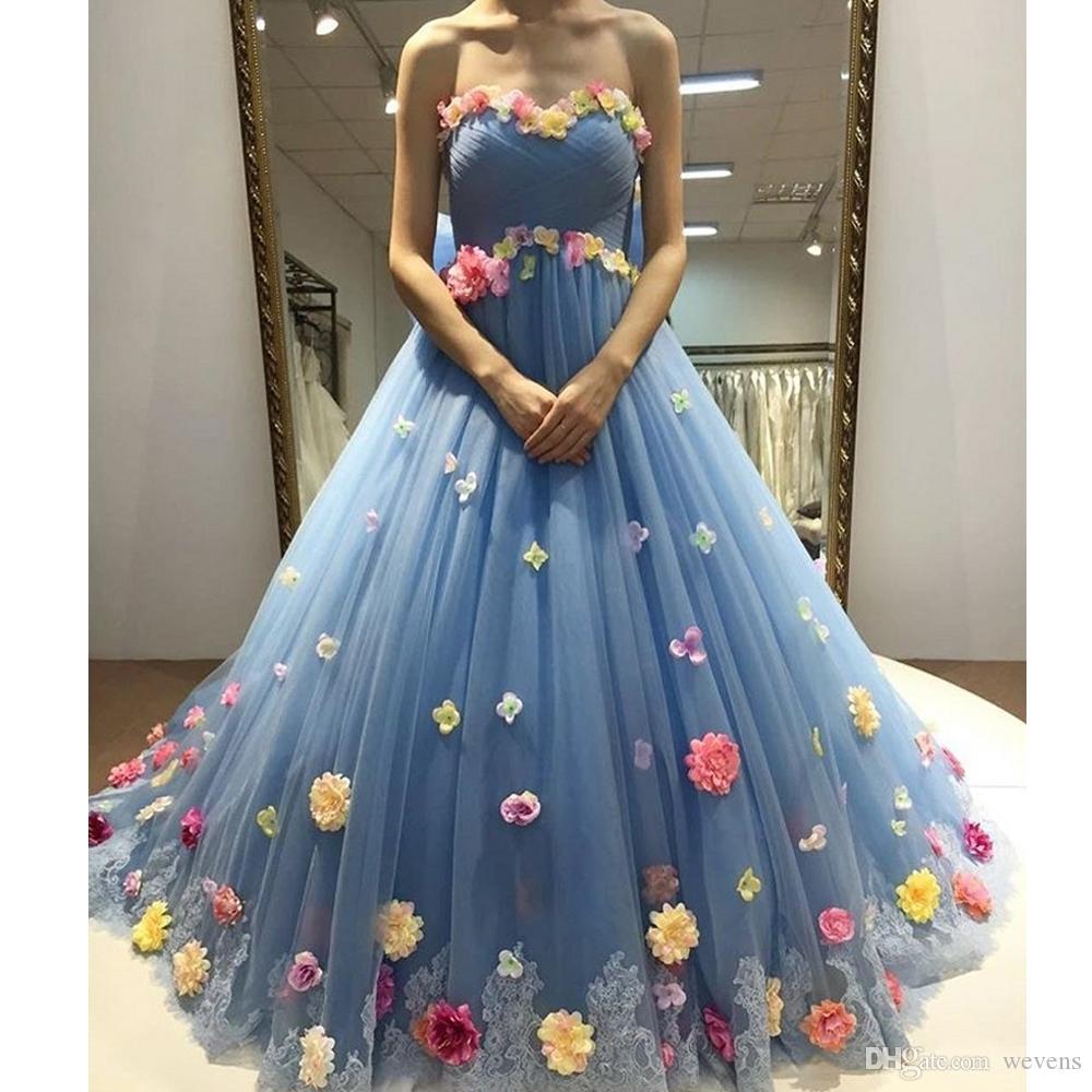 Weddings & Events SchöN 2019 Sky Blau Zwei Stück Quinceanera Kleider A-line Spitze Applique Perlen Langarm Sweep Zug Tiered Tüll Abendkleid