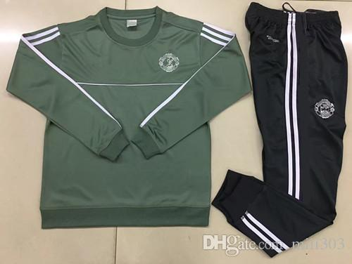 0f10d55f9 2019 2018 UTD LUKAKU Tracksuit Survetement POGBA Football Training Kits  Soccer Chandal 17 18 IBRAHIMOVIC United Jscket Training Pant Sweater Suit  From ...
