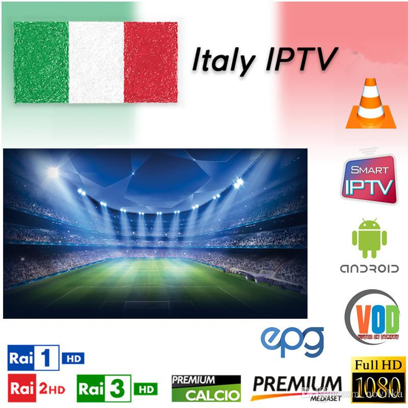 IPTV Italia Italy France French subscription 6/12 Months Iptv M3U Adult UK  German Spanish Tv For Android TV Box IOS Smart TV linux stb 25x