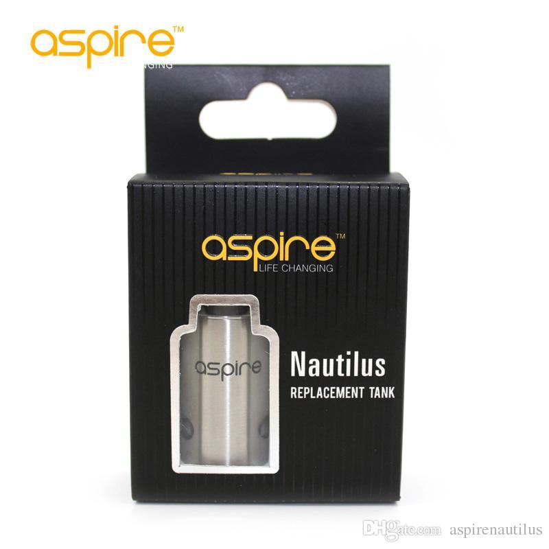 Original aspire Mini nautilus Tanque de Substituição para Aspire Nautilus Mini sistema de Controle de fluxo de ar Mini Nautilus Tubo de Aço Inoxidável