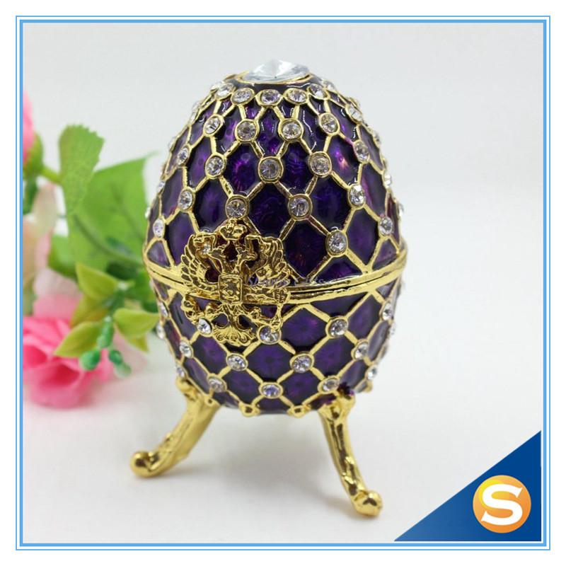 Wholesale fashion easter metal crafts gifts faberge egg trinket box wholesale fashion easter metal crafts gifts faberge egg trinket box egg shaped jewelry box for women box for box eggs box box online with 3519piece on negle Image collections