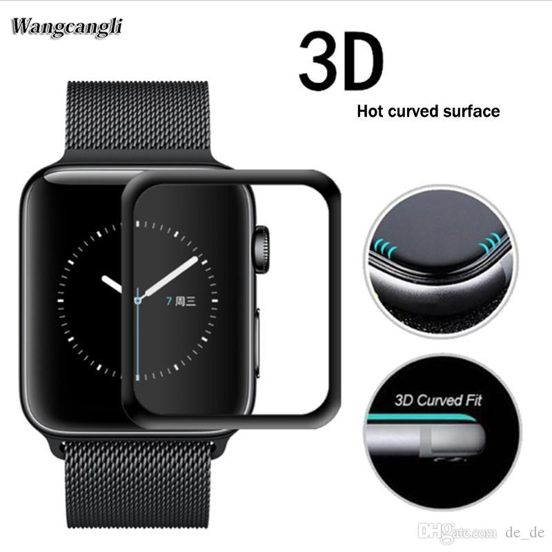 purchase cheap 7f5f2 83248 Apple Watch 38mm 42mm Screen Protector Bestfy iWatch Tempered Glass Screen  Film for 38mm 42mm iWatch Series 3/2/1