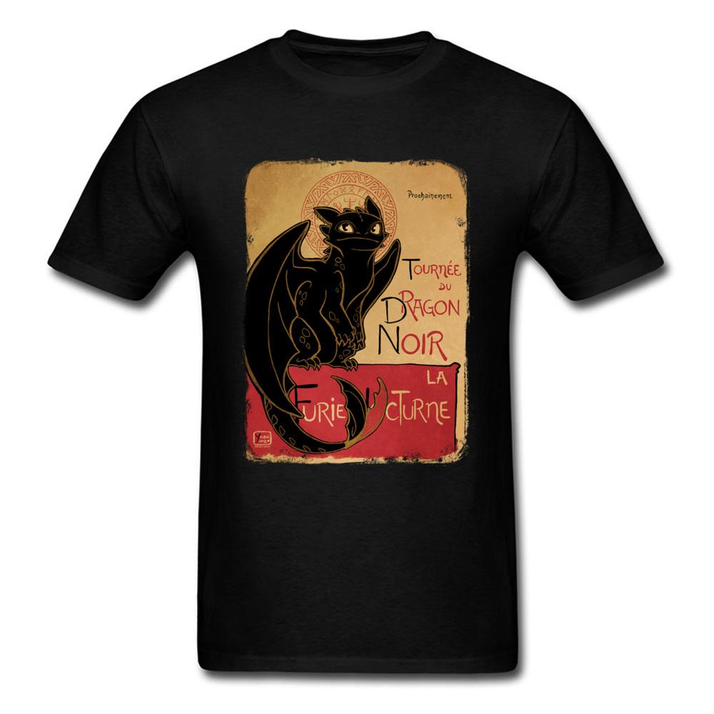 db716c8e Summer Black Dragon T Shirt Toothless Tops Men T Shirt How To Train Your Dragon  Tshirt Vintage Clothing Cotton Fabric Shirts Design Online T Shirts From ...