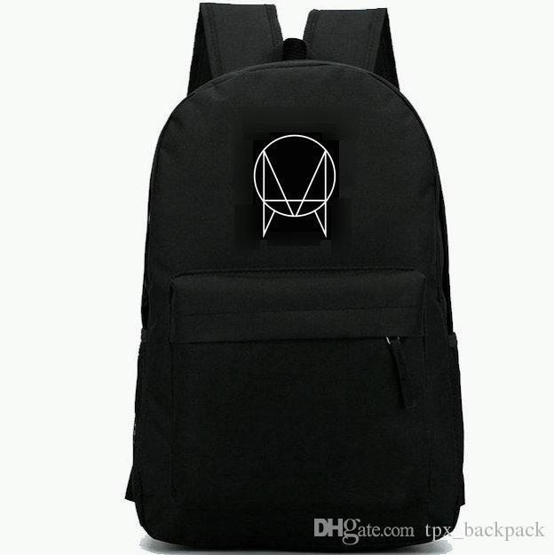 Owsla backpack Skrillex start day pack Top DJ school bag Cool packsack  Leisure rucksack Sport schoolbag Outdoor daypack
