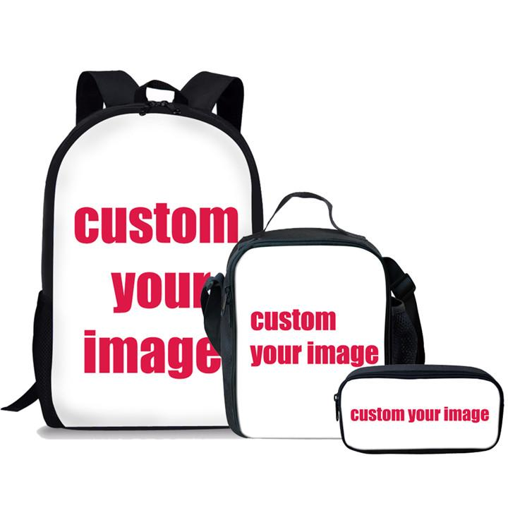 819363ca54b FORUDESIGNS Customized School Bags Set Primary School Backpack For Boys  Girls Schoolbag Teen Backpacks Small Backpack Laptop Backpacks From  Giaogiaoo