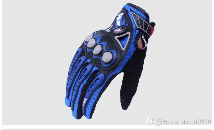 Motorcycle Gloves Moto Racing Motorbike Motocross Motor Riding cycling bicycle glvoes Black Red Blue Orange MCS-23