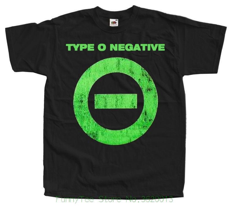 Großhandel Type O Negative Logo T Shirt Schwarz Alle Größen S 5xl ...