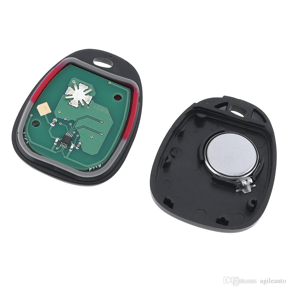 315Mhz 3 Buttons Keyless Entry Remote Key Fob KOBLEAR1XT 15042968 for Chevrolet Silverado Tahoe Yukon KEY_109