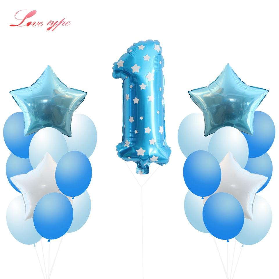 2019 Decorating Supplies Baby Shower Balloons 1st 2nd Birthday Favors Kids Toys Anniversary Party Decorations From