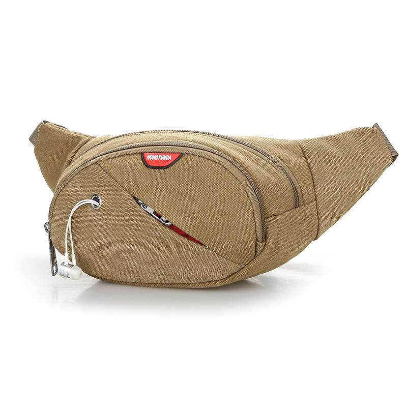 Zipper Waist Bag Canvas Adjustable Belt Fanny Pack Bags Chest Belt Bags  Crossbody Chest Bags Sac Banane Water Resistant Drawstring Bags Rolling  Backpack ...