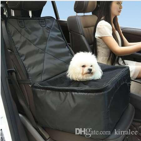 Pet Booster Seat >> Multifunctional Pet Car Booster Seat Thick Dog Carrier Car Front Chair Basket Seat Cover Travel Storage Bag Trunk Organizer