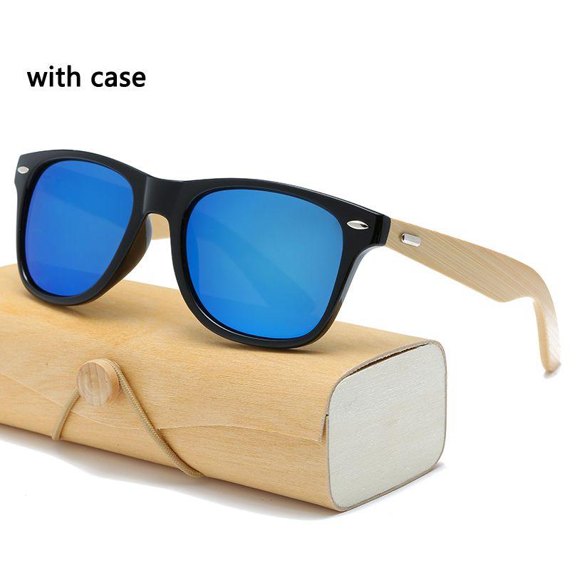 6be0acacbe With Case Wood Sunglasses Bamboo Men Women Square Women For Men Mirror Sun  Glasses Retro De Sol Masculino Cool Sunglasses Custom Sunglasses From  Qiuyeluo
