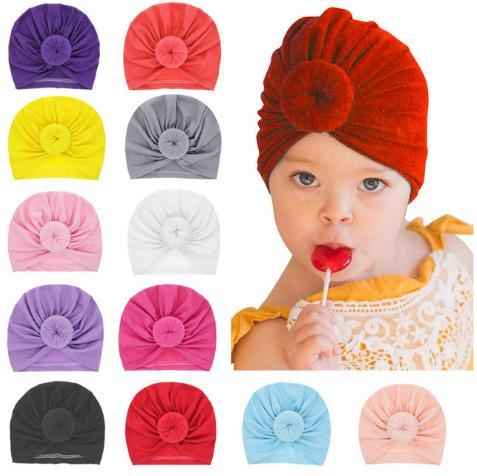 Acheter Mode Donut Bébé Chapeau Nouveau Né Élastique Coton Bébé Bonnet  Bonnet Multicouleur Infantile Turban Chapeaux Balle Noeud Indien Turban  Le153 De ... ab254c711a7
