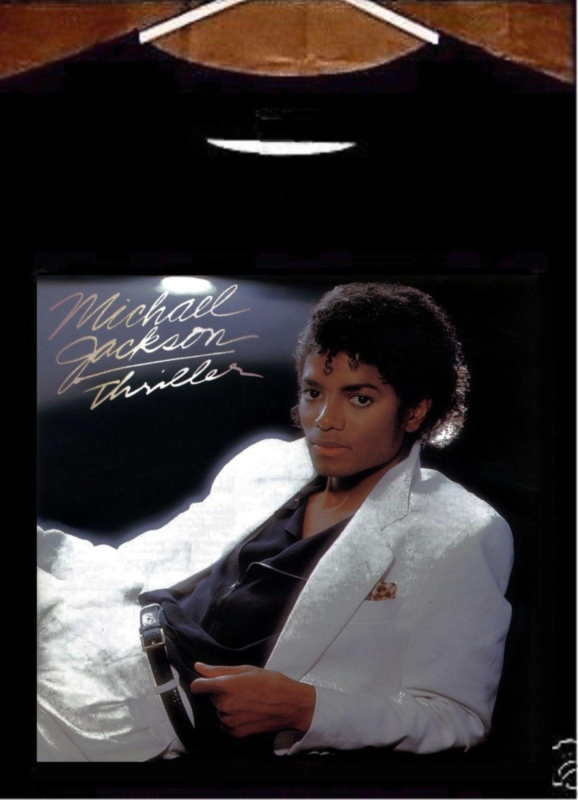 Compre Michael Jackson Thriller Camiseta  Camiseta De Michael Jackson  Thriller Album A  29.33 Del Linnan0001  ea5aab74960fd
