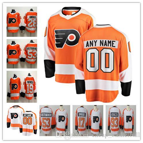 9f28b5e72 2019 Custom ANY NAME &NO JERSEYS Men Women Kids 17 Wayne Simmonds 28 Claude  Giroux Authentic Hockey Jerseys Stitched From Cheap_basketball, $26.61    DHgate.