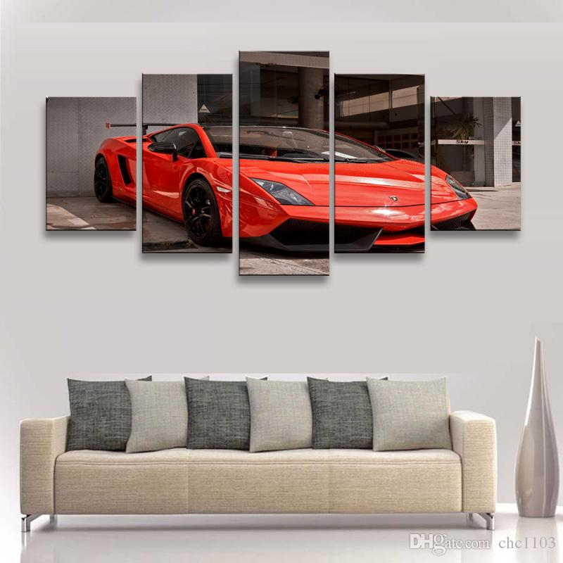 Painting & calligraphy World famous car canvas poster art painting living room restaurant Bedroom Decorative paintings C5-062