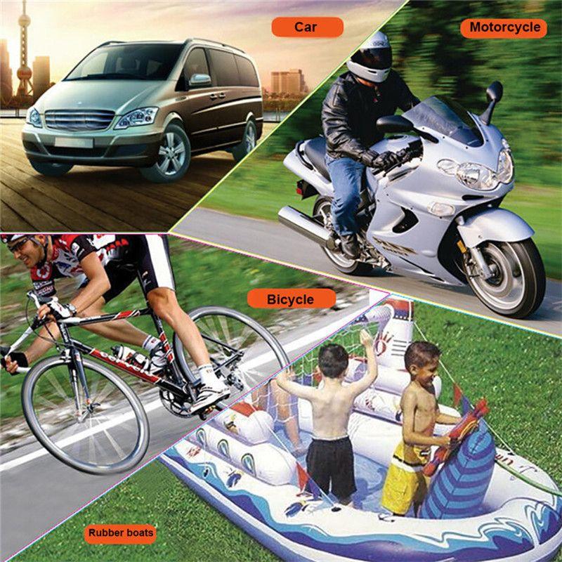 100 psI Mini Air Compressor 12V Car Auto Portable Pump Tire Inflator high quality car-styling Portable Air Compressor Pump