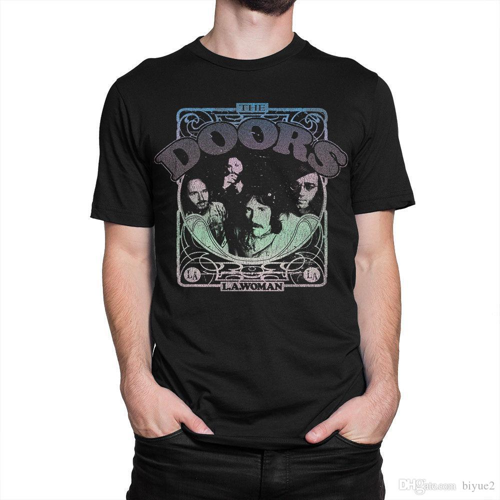 acd67b4b The Doors L.A. Woman T-shirt, Jim Morrison Tee, Men's Women's All Sizes T  Shirt Gift More Size And Colors top tee
