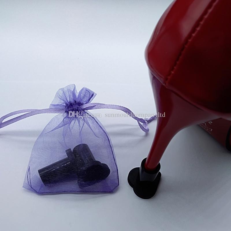 scarpe donna sandali tacco alto stopper Protezioni tallone Stiletto Scarpe da ballo perni
