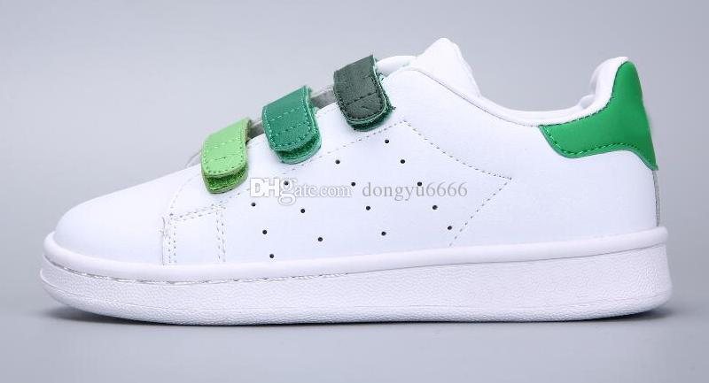 9f26a2258ff SUPER STAR Kids NEW STANSMITH Grils SNEAKERS CASUAL LEATHER Children Shoes  SPORTS JOGGING SHOES Boys CLASSIC FLATS Running SHOES Running Trainers Kids  Boys ...