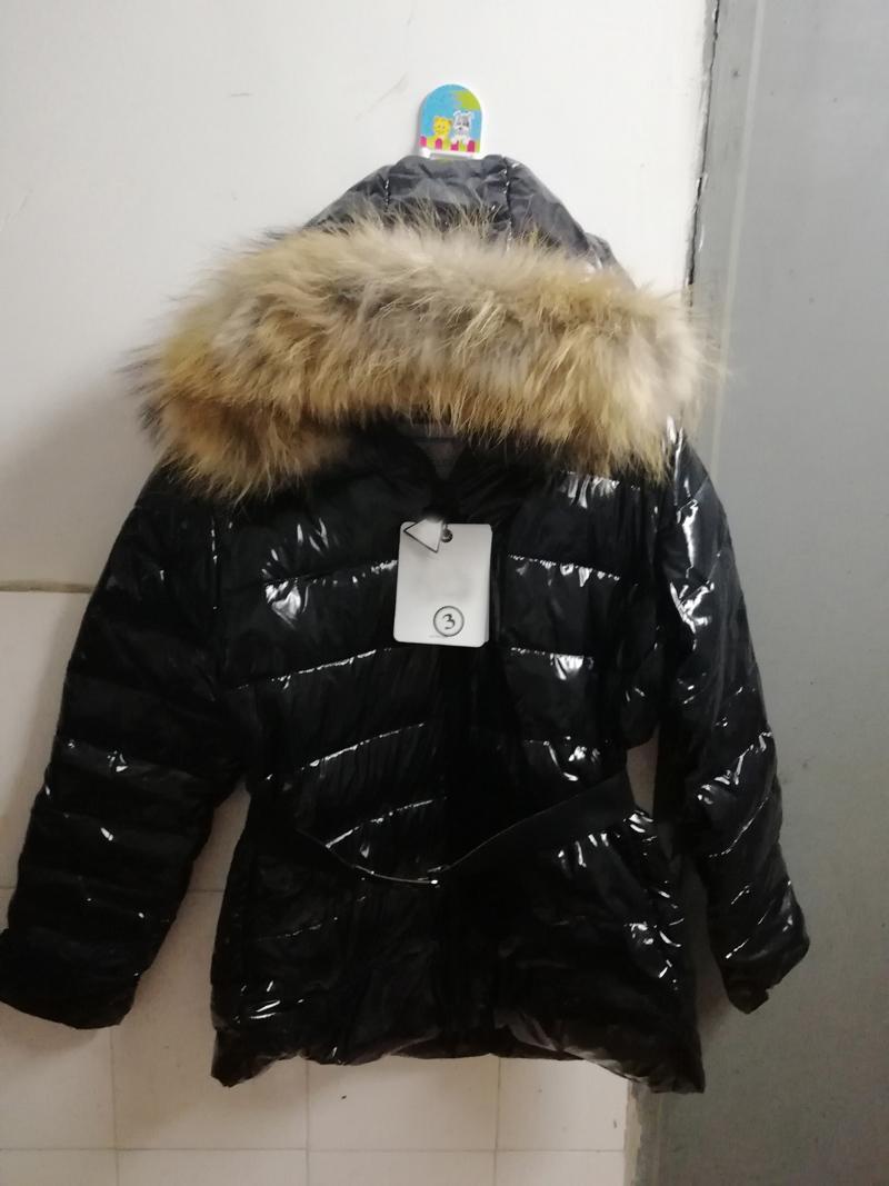 00ca583a2 Women Winter Jacket Coat Real Raccoon Fur Hood Fashion Thicken Warm ...