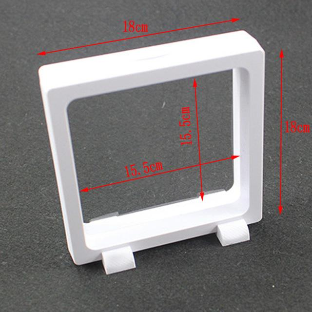 Wholesale Floating Picture Frame Shadow Box Jewelry Display Stand Holder Protect Jewellery Stone Presentation Case