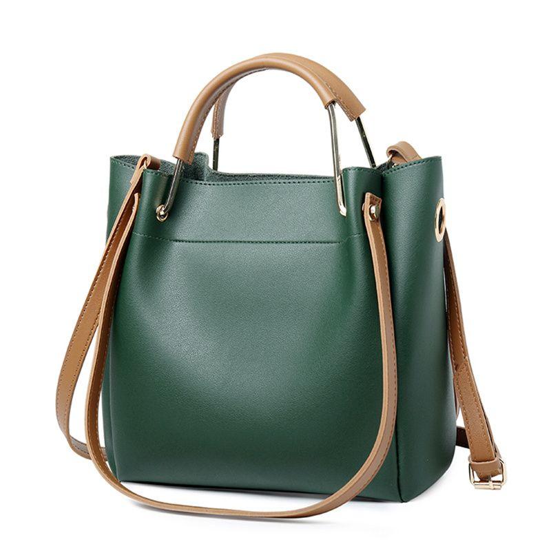 bf7810ba6f Bucket Bag Handbag Fashion Simple Simple Large Capacity Handbag ...
