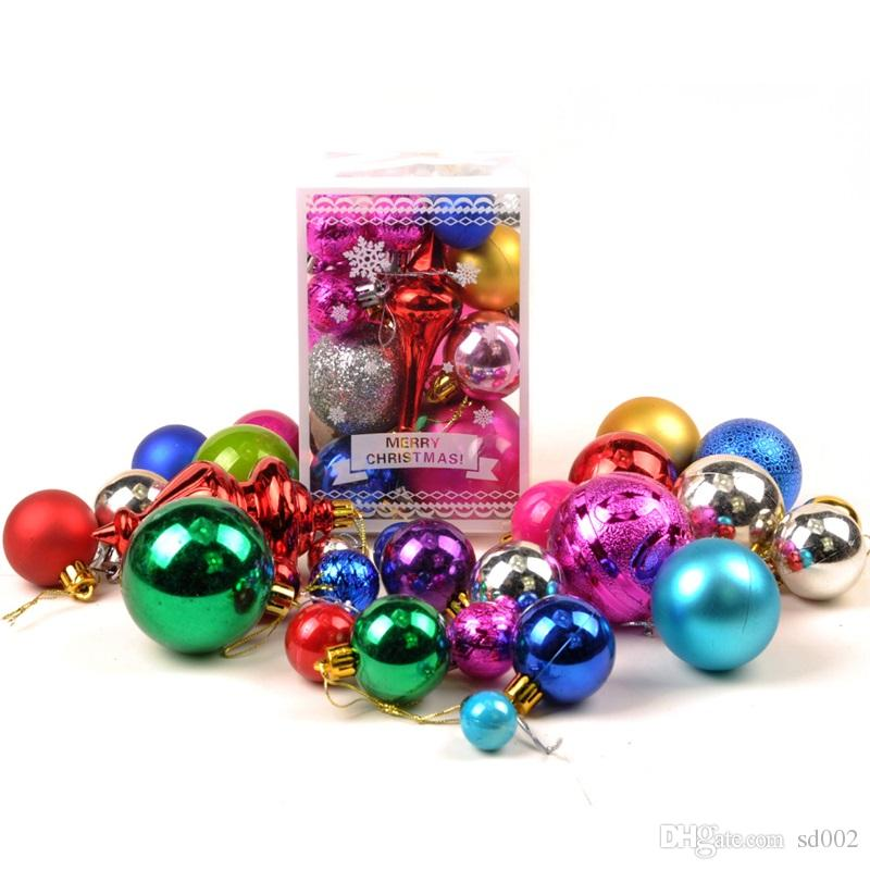 Christmas Ornament Festival Ball Tree Happy Day Decorating Balls Green Trees Pendant Multi Package Decoration 24jc4 gg